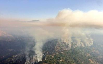 Desciende a nivel 0 el incendio de Gavilanes - Pedro Bernardo con 1400 hectáreas quemadas