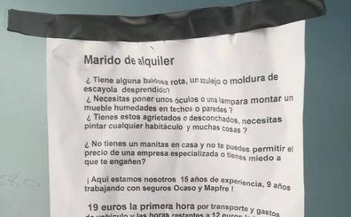 La respuesta viral a un albañil que se ofrece como «marido de alquiler»