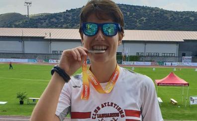 Marina Sillero, quinta en marcha en el Nacional sub-23, la mejor de los atletas salmantinos