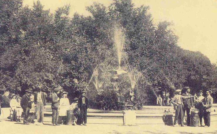 Estampas del Valladolid antiguo (VII): el Campo Grande a principios del siglo XX