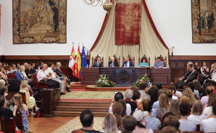 Inauguración los cursos de español en la Universidad de Salamanca