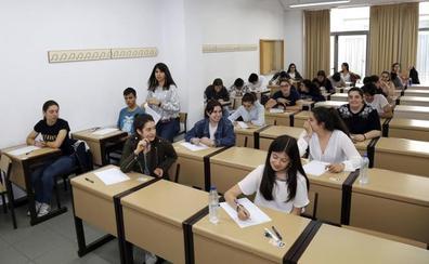 Un total de 894 estudiantes del distrito de la UVa se presenta a la convocatoria extraordinaria de la EBAU