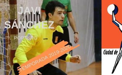 El portero Javi Sánchez regresa al BM Salamanca