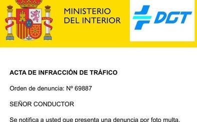 La DGT alerta de una estafa que comunica por mail multas de 1.530 euros