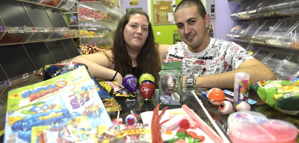 Las 'chuches' que triunfan en los kioskos de Valladolid