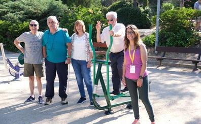 Más de 400 personas participan en el programa de los parques biosaludables