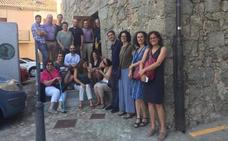 Investigadores, escritores y académicos de seis nacionalidades visitan el Museo Judío David Melul de Béjar