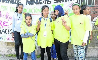 Cuarenta niños saharauis pasarán el verano en acogida en Valladolid