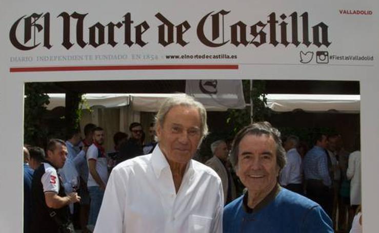 Arturo Fernández, el galán de las ferias de Valladolid