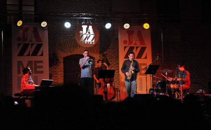 Concierto de 'Alberícola' en el Festival de Jazz de Medina