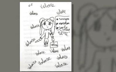 Un dibujo alerta a los profesores de una niña del matrato que sufría en casa