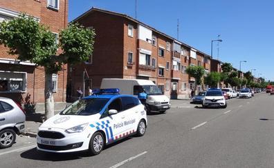 Dos personas heridas en una colisión entre dos vehículos en el Paseo Zorrilla