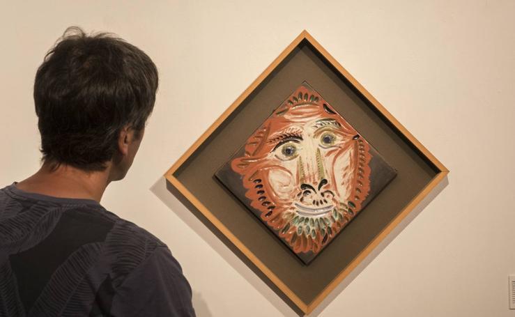 Selección de cerámicas de Picasso en Las Francesas