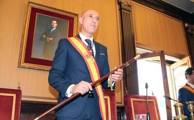 José Antonio Diez se compromete desde la Alcaldía a hacer de León «la mejor ciudad del mundo»