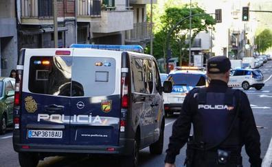 Detenida una pareja por tráfico de droga, amenazas y agresión a un agente policial en Salamanca