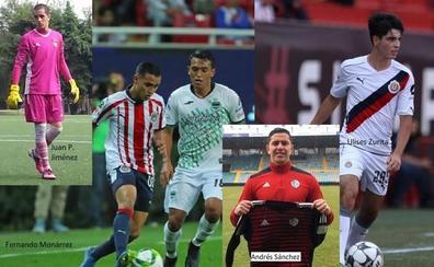 Los mexicanos Andrés Sánchez y Juan Pablo Jiménez completan la portería del Salamanca CF