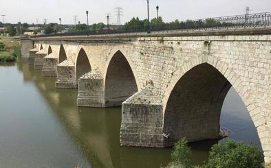 Las obras en el puente medieval de Tordesillas se inician el lunes y apenas afectarán al tráfico