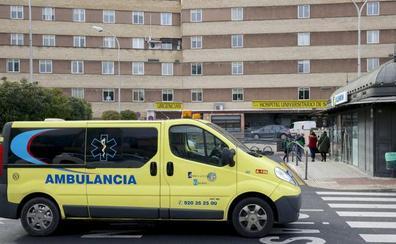 Herido grave un motorista en la localidad salmantina de Coca de Alba