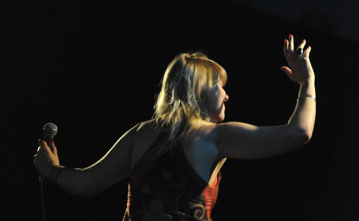 El concierto de Noa Lur en el festival de Jazz de Medina del Campo