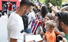 El Atlético de Madrid desembarca en Los Ángeles de San Rafael sin Antoine Griezmann