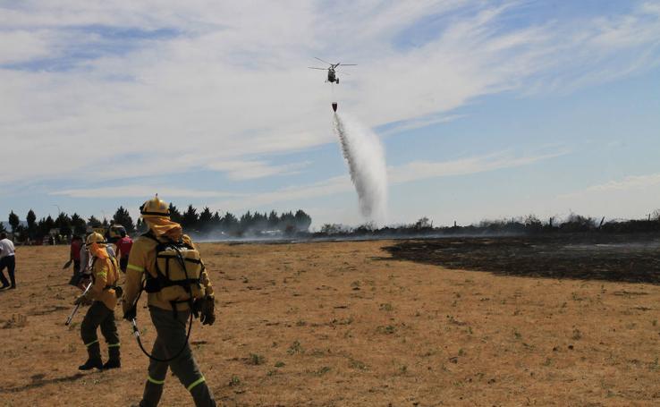 Incendio en Trescasas (y 2)