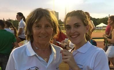 Laura Martín se proclama campeona de España júnior de salto de altura