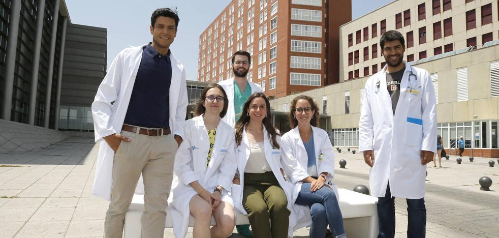 El relevo generacional de la sanidad ausculta el Complejo Asistencial de Palencia