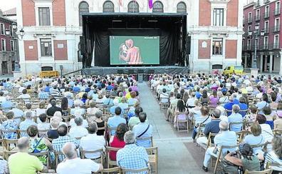 Ópera en la Plaza Mayor de Valladolid