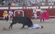El arevalense José Manuel Medina, Zorrillo, profeta en su Tierra, al conseguir la victoria en la primera semifinal de la Liga del corte Puro