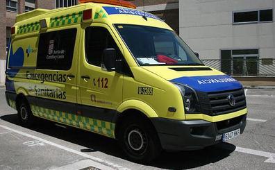 Herido un motorista tras una colisión con un turismo en la carretera de San Rafael