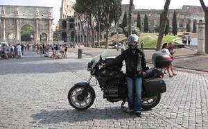 Dos mil kilómetros en moto hasta Roma