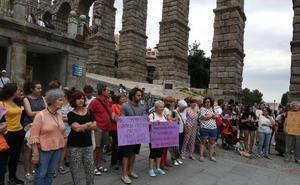 La indignación por la 'manada de Manresa' llega a Segovia