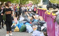 Batidas de limpieza en Parquesol