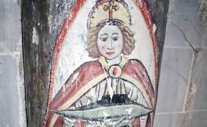 Se descubren pinturas góticas en la catedral de Palencia