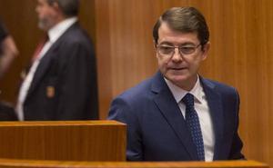 La oposición ve falta de concreción en el discurso de Mañueco e Igea lo considera «correcto», pero no brillante