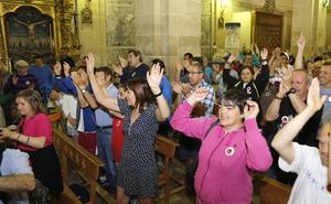 Las personas con discapacidad se reúnen en Marcilla para fomentar la integración