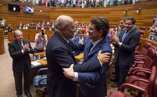 Alfonso Fernández Mañueco elegido presidente de la Junta de Castilla y León