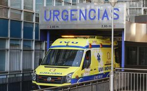 Seis heridos, entre ellos dos menores, tras salirse de la vía una furgoneta en Soria