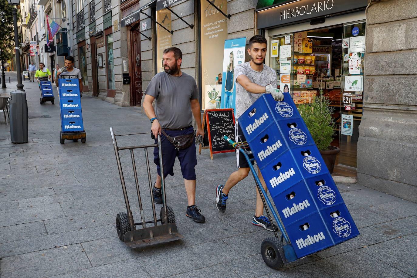Los castellanos y leoneses se situan entre los españoles que menos cobran