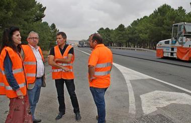 La Junta invierte 1,1 millones en mejoras en la CL-602 entre Cuéllar y Valladolid