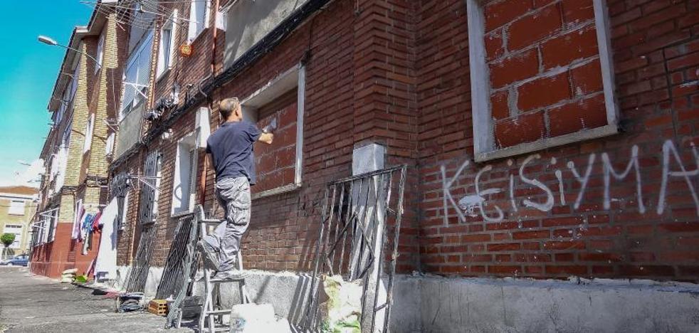 Tapian la vivienda del anciano que murió solo en Las Viudas para evitar su ocupación ilegal