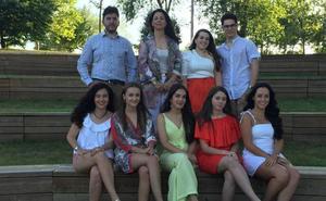 Presentación de las damas y los presentadores de las fiestas 2019 de Guijuelo