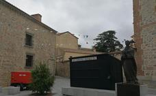 Malestar en la Federación Abulense de Hostelería por la colocación de las casetas para las fiestas en el centro histórico
