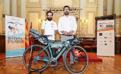 De Valladolid a Ámsterdam en bicicleta para investigar la enfermedad de Dent