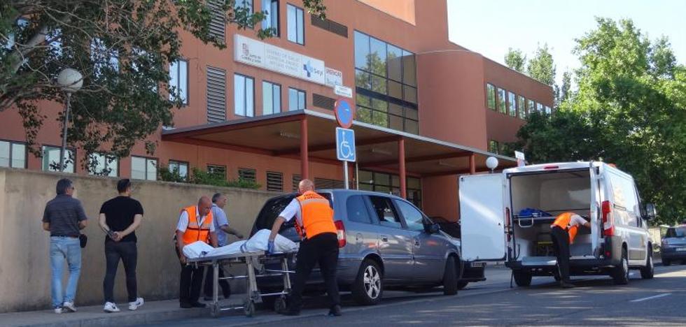 Un paciente muere en su coche a las puertas del centro de salud de Arturo Eyries en Valladolid