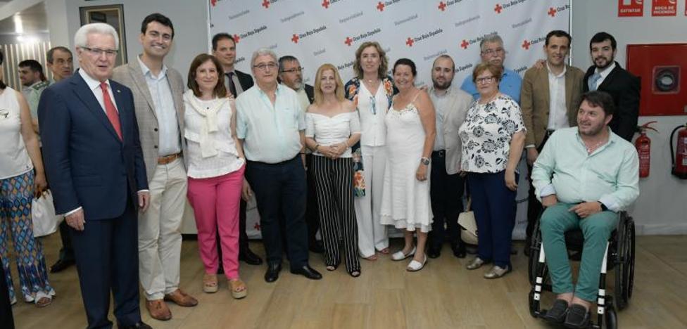 Cruz Roja nombra a sus trece nuevos «sensores» en Valladolid