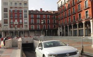 El aparcamiento de la Plaza Mayor estará operativo hacia el 25 de julio