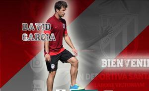 David García entrenará al División de Honor Juvenil del Santa Marta