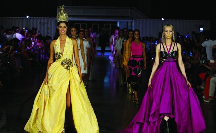 Desfile de María Lafuente en la Mercedes-Benz Fashion Week Madrid