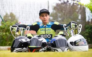 Enrique Benito, una infancia sobre la moto